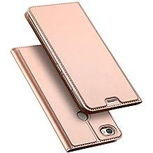 Funda Xiaomi Redmi Note 5A Prime, DUX DUCIS Skin Pro Series Ultra Slim Layered Dandy, Pata De Cabra,Magnetico, TPU Parachoques, Protección De Cuerpo Completo Para Xiaomi Redmi Note 5A Prime (Rosa Dorada)