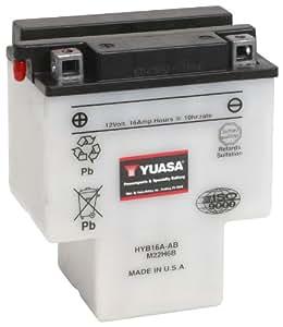 YUASA HYB16A-AB-Batteria per Moto