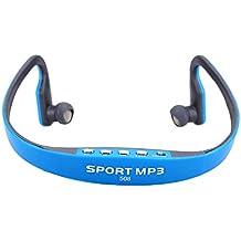 Andoer® Portátil Deporte Auriculares Inalámbrico TF Radio FM Manos Libres Reproductor de MP3 de la