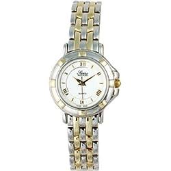 Swiss Edition se3820-lw Damen-Armbanduhr Bicolor Rund Kleid