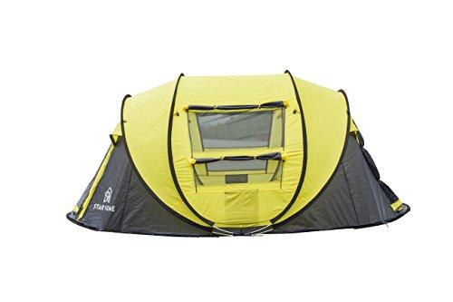 ALLIN Star Home 4 Personen Pop Up Erschwingliche Zeltunterstützung Wandern Camping Reisen Familie Dinner