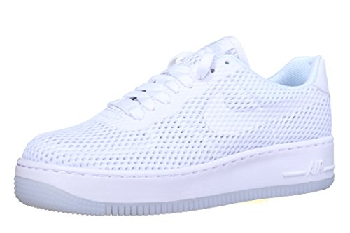 best sneakers c79df c8345 Nike Women's W Af1 Low Upstep BR Trainers Off-White Size: 6.5 UK