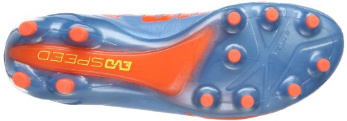 Puma  evoSPEED 1.2 L FG, Chaussures de football homme Bleu - blu (Blau (sharks blue-fluro peach-fluro yellow 04))