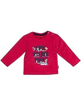SALT AND PEPPER Baby-Jungen Langarmshirt B Longsleeve Pirat Print AHOI