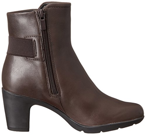 Clarks Lucette Jewel-Boot Dark Brown Leather