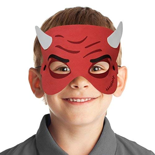 Folat EVA Childrens Party máscara-Diablo