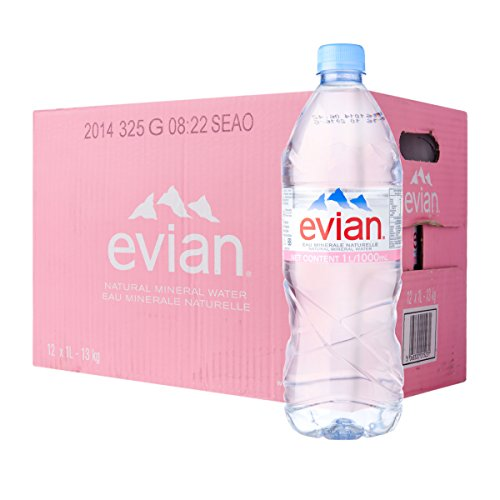 Evian Natural Spring Mineral Rich Water - 500 ML (Pack Of 24)