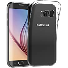 S6 Edge Funda, JETech® Slim Fit Samsung S6 Edge Funda Carcasa con Anti-Arañazos para Samsung Galaxy S6 Edge Case Cover (HD Clara)