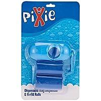 Pixie Disposable Dispenser Bag & Refill, Blue, Pack of 2