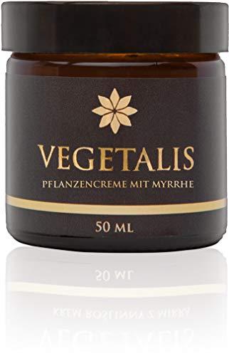 Vegetalis - Eine natürliche, feuchtigkeitscreme, pflanzliche Creme mit Myrrhe für trockene und empfindliche Haut. Innovative Technologie - 100% veganfreundlich - Intensive Nourishing Day Cream