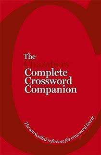 The Chambers Complete Crossword Companion Book Amazon Co Uk Chambers 9781471801686 Books