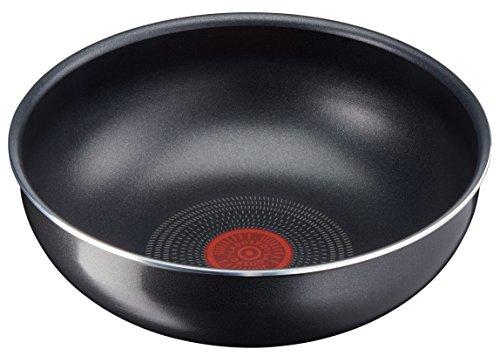 Lagostina Ingenio Essential Wok, ø 28cm, aluminium, noir