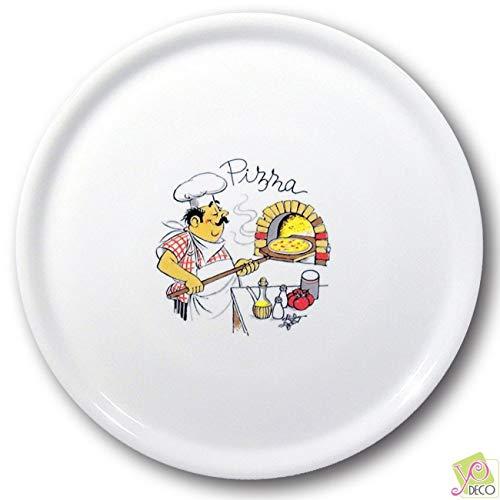 Lot de 6 assiettes à pizza Pizzaiolo - D 31 cm - Napoli