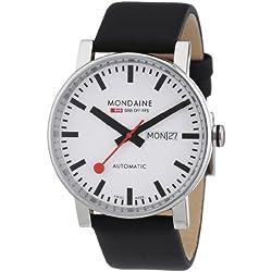 Mondaine Herren-Armbanduhr SBB Evo Automatic 40mm Analog Automatik A132.30348.11SBB