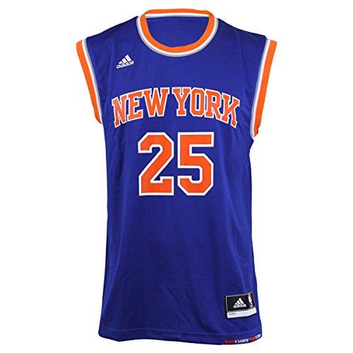 adidas INT Replica JRSY Maillot de basketball New York Knicks pour homme, Bleu (Nba New York Knicks 5-3Kb), S