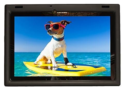 Bobj Etui en Silicone Robuste pour Tablette Lenovo 10 TB-X103F and Tab 2 A10-30, Tab2 X30F - BobjGear Housse de Protection (Noir)