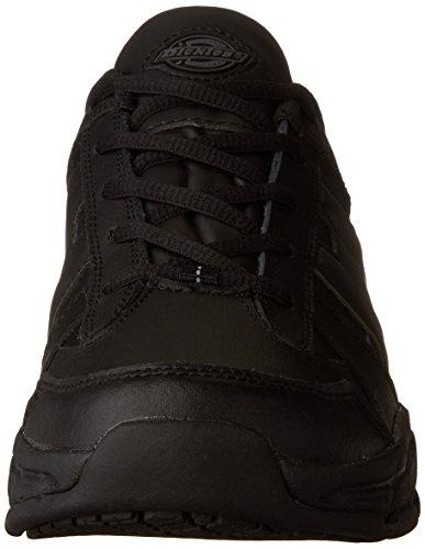 Dickies Mens Athletic Lace Work Shoe Black
