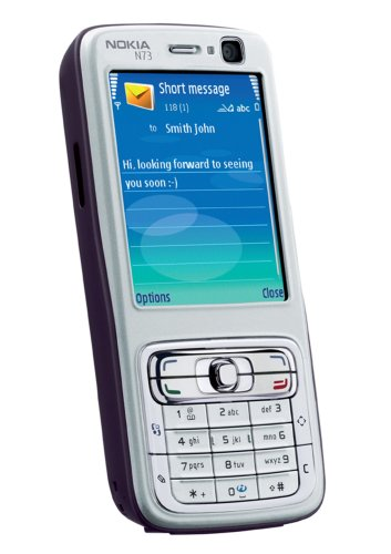 Handy Nokia N73 plum/silver ohne Branding