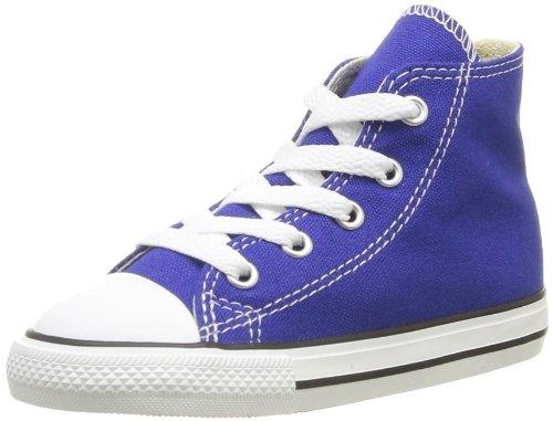 Converse, Chuck Taylor All Star Season HI, Sneaker, Unisex - bambino Blu (Bleu (Bleu Radio))
