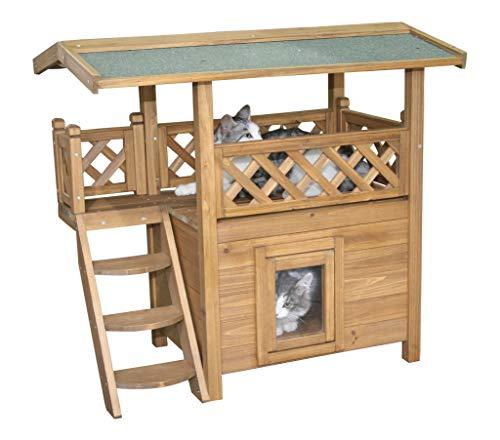Kerbl Katzenhaus Lodge aus Holz