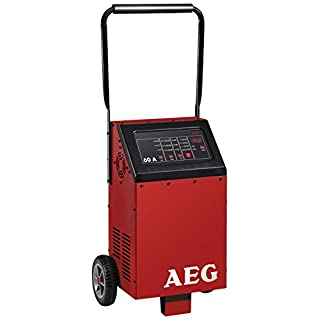 AEG Automotive 97012 microprocessor charger LW 60.0 A for 12 V and 24 V batteries, 8 settings
