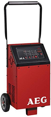 AEG Automotive 97012 Chargeur microprocesseur LW 60 ampères pour batteries 12 et 24 V, 8 niveaux