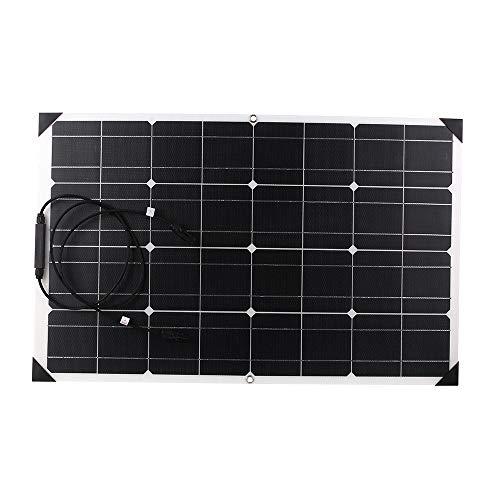 Preisvergleich Produktbild KKmoon Flexible Solar Panels 80W 20V ETFT Honeycomb Surface 25% Conversion Rate Solar Panel System for RV Homeuse