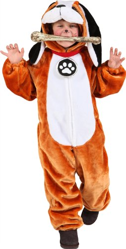 Hunde Für Haloween Kostüm - Orlob Bernhardiner Kinder Kostüm als Hund zu Karneval Fasching Gr.140/152