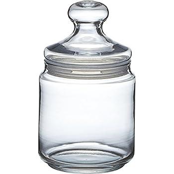 luftdichte vorratsdosen bonbonglas aus dickwandigen glas vorratsglas mit fassungsverm gen von 6l. Black Bedroom Furniture Sets. Home Design Ideas