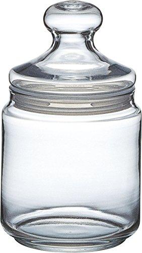 Luminarc Pot Club Dose mit Deckel 750ml, Vorratsglas, Bonbondose aus Glas, 1 Stück