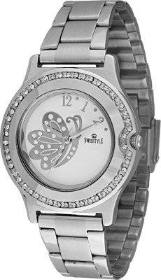 Swisstyle SS-LR2001-WHT-CH Analog watch for women