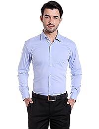 Donear NXG Mens Formal Shirt_SHIRT-C111-SKYBLUE