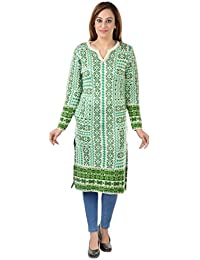 Shree Mark Women's Woolen Casual Regular Fit Full Sleeve A-Line Kurta(Type-Women Woollen Kurta/Kurti;Size-X-Large).