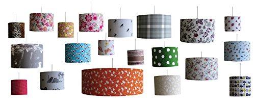 bausatz zur dekoration mit lampenschirm durchmesser 30cm zum h ngen oder f r die stehlampe. Black Bedroom Furniture Sets. Home Design Ideas