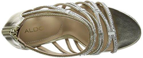 Aldo Liah, Scarpe Col Tacco con Cinturino a T Donna Gold (gold)