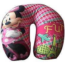 Home Bargain Neck u Shape Pillow for Travel (Pink)