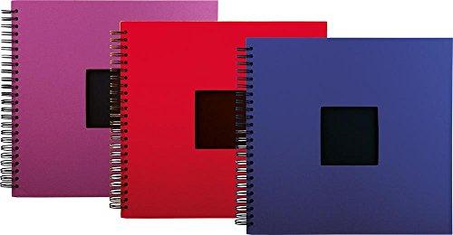 Henzo KLS Spiralalb. Profi 35x33 50 schw. Seiten farbl.Sort. 5190, KLS 5190