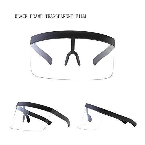 ZHONGST Gläser, Die Im Freien Staub-Schmutz-Windschutzscheibe HD Myopie Sun-Sport-Schutzbrillen Reiten,Clear