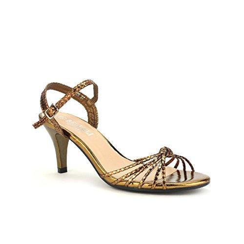 Cendriyon Sandale Bronze BELLELI Moda Chaussures Femme Bronze