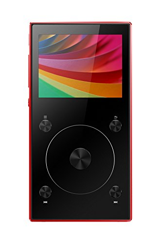 dsd player FiiO X3 Mark III portabler High Definition Audio und MP3 Player, 192Khz/32Bit, Bluetooth 4.1, Tochwheel zur Navigation