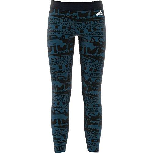 adidas Mädchen Sport Id Tights Petnit/Black/White