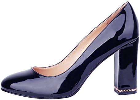 Verocara Pump1 - Zapatos de vestir de Material Sintético para mujer