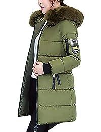 66f4ecc44f8b6 Doudoune Manteau Femme Hiver Élégant Mode Gaine A Capuche Manches Longues  Épaisseur Spécial Style Parka avec