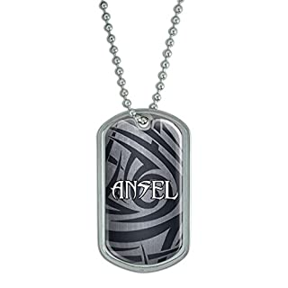 Dog Tag Pendant Necklace Chain Names Male Al-Ap - Ansel