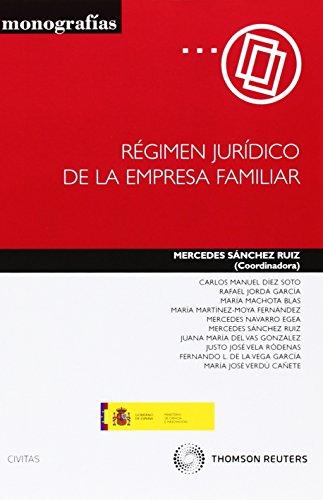 Régimen Jurídico de la Empresa Familiar (Monografía)