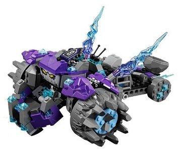 Triple Rocker (LEGO 70350 - Nexo Knights Knights Triple-Rocker OHNE FIGUREN, Buch und Schilder!!!)