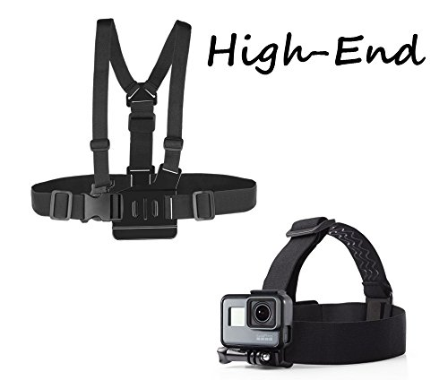 O RLY Kopfband Head Strap + Chesty Brustgurt Halterung Harness body für GOPRO Hero 4 5 6 Cam SJCAM/Apeman/campark/Akaso Action Kamera Zubehör
