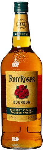 Preisvergleich Produktbild Four Roses Kentucky Straight Bourbon Whiskey / Sanfte Komposition aus 10 verschiedenen Whiskeys / Bourbon mit fruchtig-süßem Geschmack / 1 x 1 L