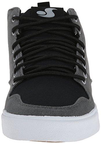DVS Elm, Chaussures de skateboard homme Gris (Gry/Blk)