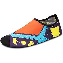 SAGUARO® Zapatos de piel transpirable Yoga Zapatos de secado rápido
